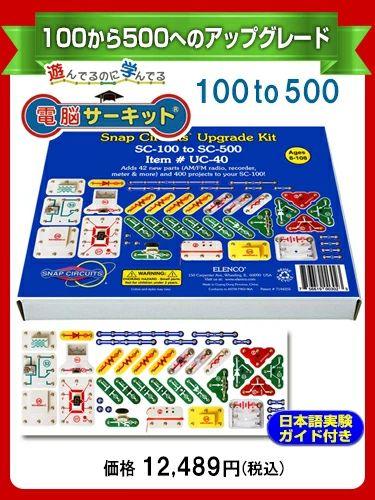 電脳サーキットアップグレードキット100to500