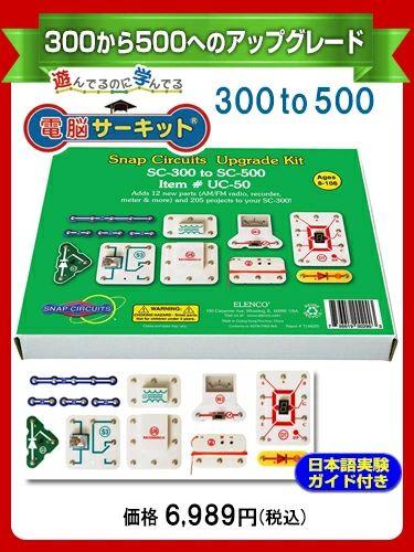 電脳サーキットアップグレードキット300to500